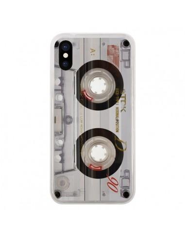 Coque iPhone X et XS Cassette...