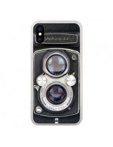 Coque iPhone X et XS Vintage Camera...