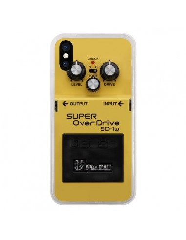 Coque Super OverDrive Radio Son pour iPhone X - Maximilian San