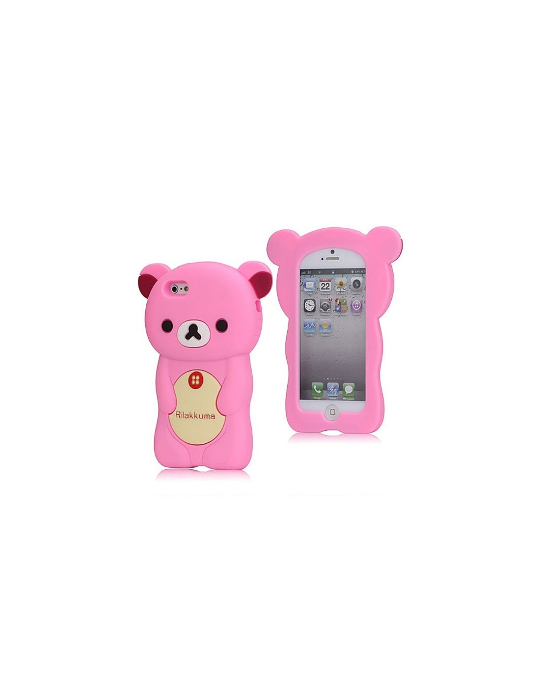 coque rilakkuma ourson pour iphone 5. Black Bedroom Furniture Sets. Home Design Ideas