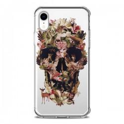 Coque iPhone XR Jungle Skull Tête de Mort Transparente souple - Ali Gulec