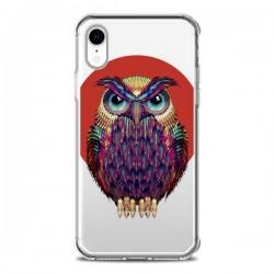 Coque iPhone XR Chouette Hibou Owl Transparente souple - Ali Gulec