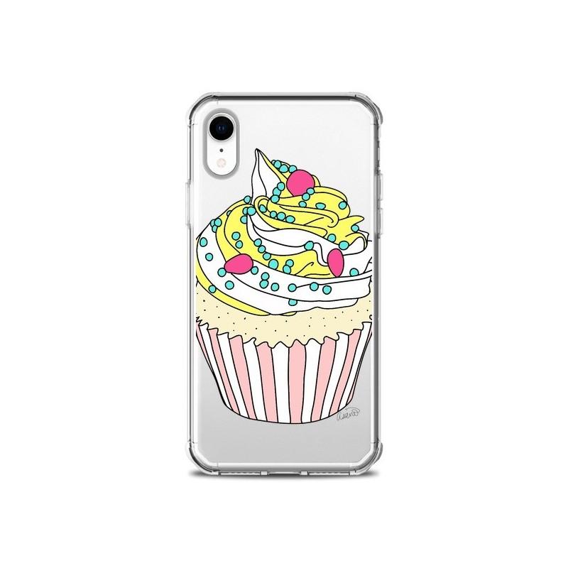 Coque iPhone XR Cupcake Dessert Transparente souple - Asano Yamazaki