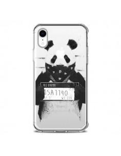 Coque iPhone XR Bad Panda Transparente souple - Balazs Solti