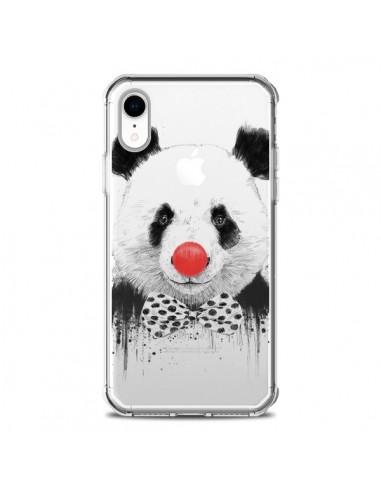 Coque iPhone XR Clown Panda...