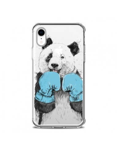 Coque iPhone XR Winner Panda Gagnant...