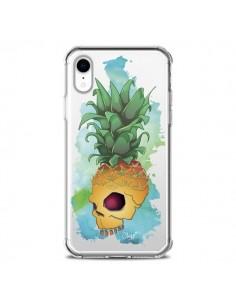Coque iPhone XR Crananas Crane Ananas Transparente souple - Chapo