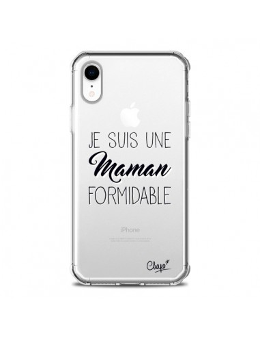 Coque iPhone XR Je suis une Maman...