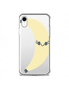 Coque iPhone XR Banana Banane Fruit Transparente souple - Claudia Ramos