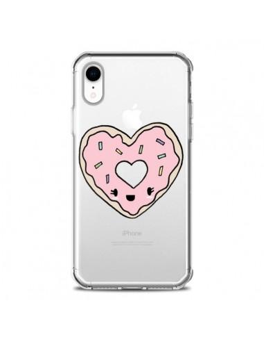 Coque iPhone XR Donuts Heart Coeur...