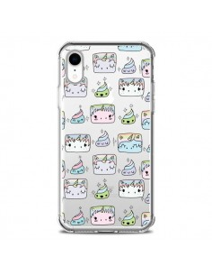 Coque iPhone XR Licorne Unicorn Cute Swag Transparente souple - Claudia Ramos
