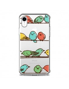 Coque iPhone XR Oiseaux Birds Transparente souple - Eric Fan