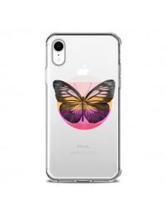 Coque iPhone XR Papillon Butterfly Transparente souple - Eric Fan