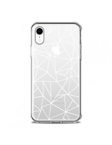 Coque iPhone XR Lignes Triangles Grid...
