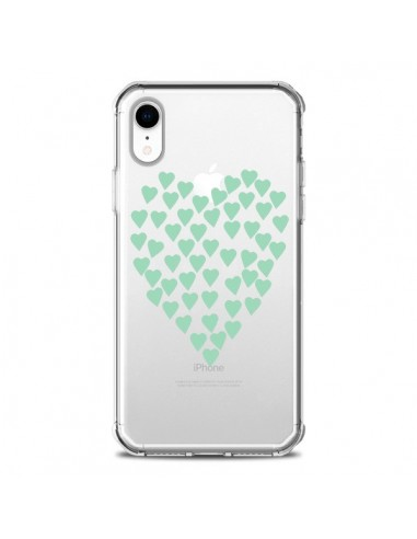 Coque iPhone XR Coeurs Heart Love...