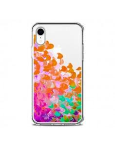 Coque iPhone XR Creation in Color Orange Transparente souple - Ebi Emporium