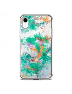 Coque iPhone XR Mermaid Sirene Fleur Flower Transparente souple - Ebi Emporium