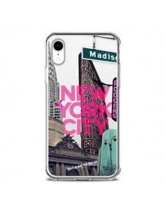 Coque iPhone XR New Yorck City NYC Transparente souple - Javier Martinez