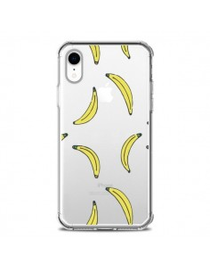 Coque iPhone XR Bananes Bananas Fruit Transparente souple - Dricia Do