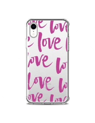 Coque iPhone XR Love Love Love Amour Transparente souple - Dricia Do