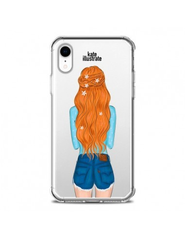 Coque iPhone XR Red Hair Don't Care...