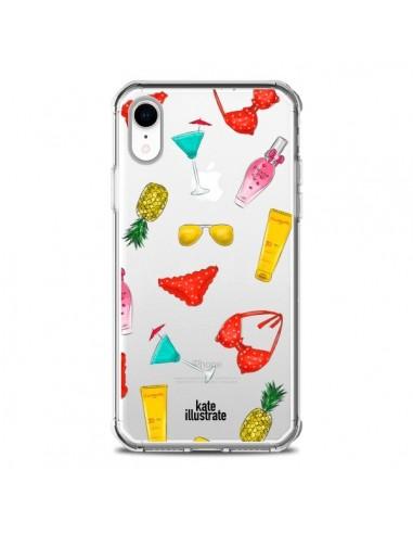Coque iPhone XR Summer Essentials Ete...