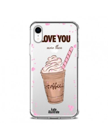 Coque iPhone XR I love you More Than...