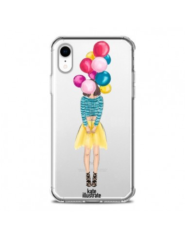 Coque iPhone XR Girls Balloons...