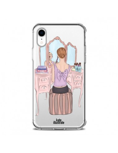 Coque iPhone XR Vanity Coiffeuse Make...