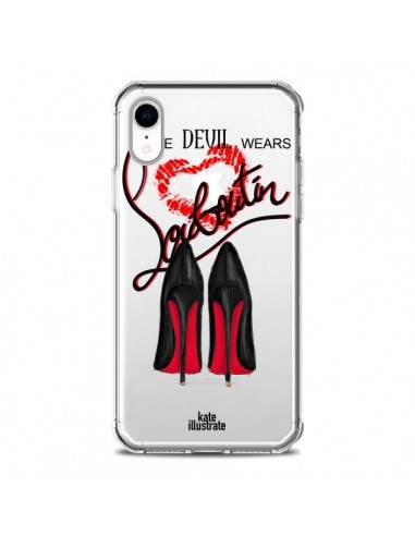 Coque iPhone XR The Devil Wears Shoes...