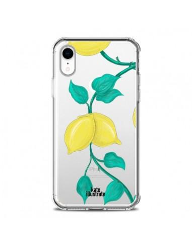 Coque iPhone XR Lemons Citrons...