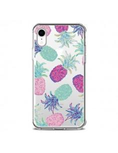 Coque iPhone XR Ananas Pineapple Fruit Ete Summer Transparente souple - Lisa Argyropoulos