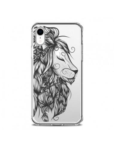 Coque iPhone XR Lion Poétique...