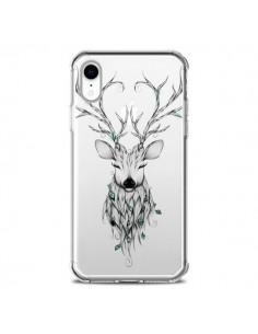 Coque iPhone XR Cerf Poétique Transparente souple - LouJah