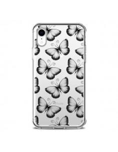 Coque iPhone XR Papillons Transparente souple Transparente souple - LouJah