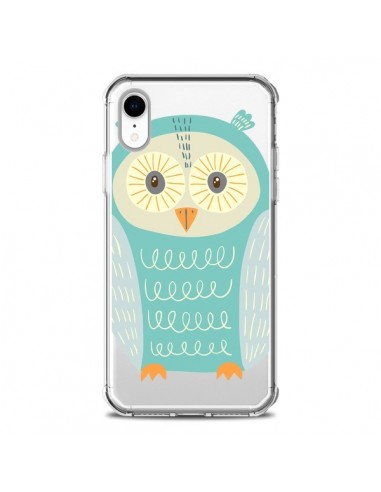 Coque iPhone XR Hibou Owl...
