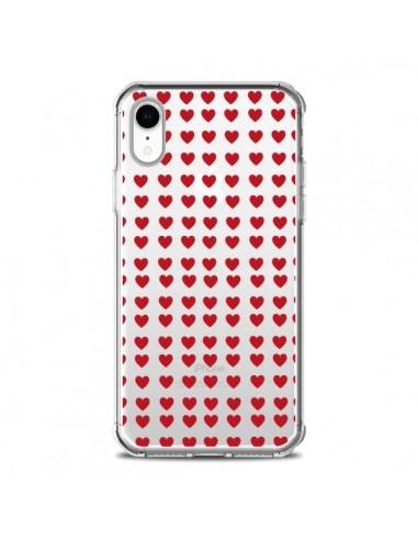 Coque iPhone XR Coeurs Heart Love...