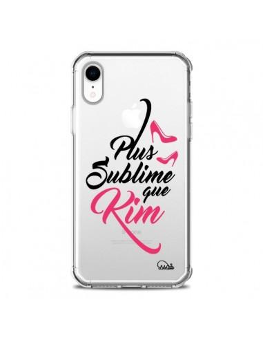 Coque iPhone XR Plus sublime que Kim Transparente souple - Lolo Santo