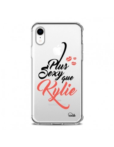 Coque iPhone XR Plus Sexy que Kylie Transparente souple - Lolo Santo