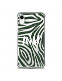 Coque iPhone XR Wild Zebre Jungle Transparente souple - Lolo Santo