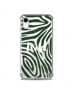 Coque iPhone XR Wild Zebre Jungle Transparente souple - Lolo Santo