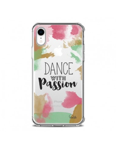 Coque iPhone XR Dance With Passion Transparente souple - Lolo Santo