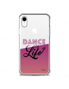Coque iPhone XR Dance Your Life Transparente souple - Lolo Santo