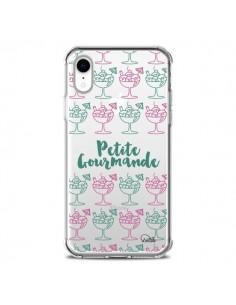 Coque iPhone XR Petite Gourmande Glaces Ete Transparente souple - Lolo Santo
