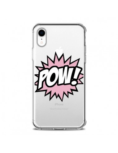 Coque iPhone XR Pow Transparente...
