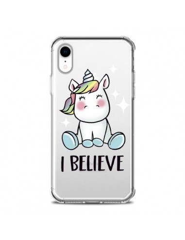 Coque iPhone XR Licorne I Believe...