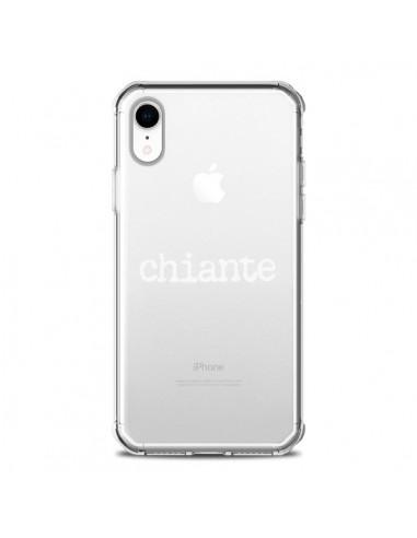 Coque iPhone XR Chiante Blanc...