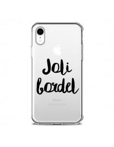Coque iPhone XR Joli Bordel Transparente souple - Maryline Cazenave