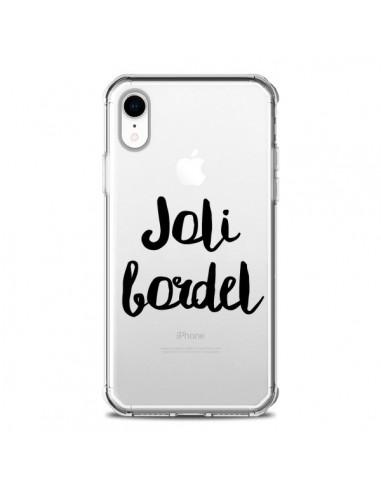 Coque iPhone XR Joli Bordel...