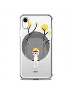 Coque iPhone XR Monstre Princesse Transparente souple - Maria Jose Da Luz